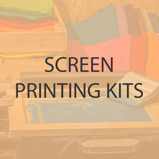 Screen Printing Kits for Students and Professionals from £49
